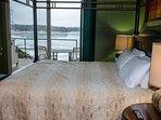 Wisconsin Dells Getaways Master Bedroom #405