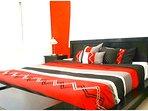 Master Bedroom w/King Size Platform Bed!