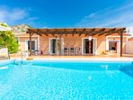 Beautiful villa with private infinity pool and terrace