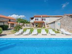 3 bedroom Villa in Tomićini, Istria, Croatia : ref 5564140