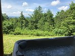 Blue View Mountain_Hot Tub_Enchanted Mountain Retreats