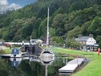 Crinan Canal great to walk or cycle