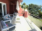 Comfortable Seating on Balcony to Enjoy the View