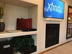 New 55' Samsung Smart UHD TV with WHOLE HOUSE SURROUND sound!
