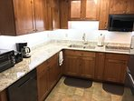 New Kitchen Cabinets and All Appliances: 30' 4 burner cook top, Convection Microwave / Range Oven