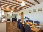 Large farmhouse kitchen/diner
