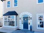 Luxury property opposite Abbeyside Beach