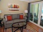 Castaways 2C - Living room