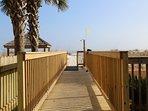 Walkway to beach!