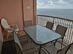 Private balcony - table and chairs