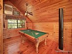 Lofted Game Room at Away From It All