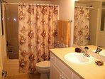 Jack n' Jill second Full Bathroom.  (Accessible from both bedroom #2 or hallway.)