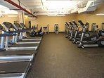 Fully equipped Fitness Center.
