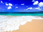 Pure Grenada, this is Home, the Spice Island of the Carribean. The famous Grand Anse Beach.