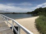 beach view of the Knob