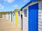 Beach Huts at Sea Pool