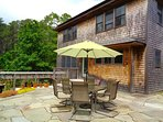 Outdoor dining - always a summer pleasure
