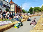 Tempest Arms, Coleby A great little community owned pub hosts an annual cart race