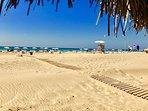Patara beach short drive away from Villa sahin