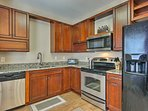 Whip up your favorite dishes with ease in the fully equipped kitchen.
