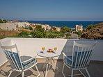 Amazing sea views from the veranda!