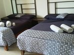 MASTER BEDROOM HAS 2 DOUBLE BEDS