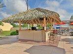 On-site facilities:- Tiki bar