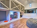 Head downstairs to the ultimate kids room!