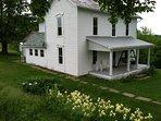McKee Farmhouse - Relax, Hunt, Explore: 1800s farmhouse on a 240 acre farm
