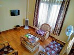 Attached private living room / TV room for guests. Attached Private Balcony also included.