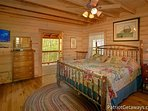 Main Level Bedroom at On Angels Wings