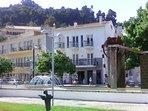 Monchique town square