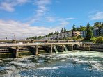 Hiram Chittenden Locks (aka Ballard Locks) and salmon ladder area