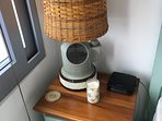 Ships compass lamp with custom shade!!