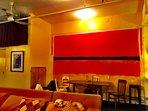 Faux Rothko Dining room