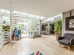 Charming & Design Loft in Colombes - Events & Stays With Parking & Patio
