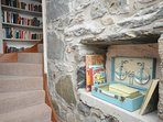 Quirky cottage stairs