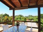 veranda coperta di pertinenza esclusiva
