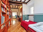 14 borromini hallway and single bed