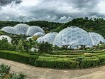 The Eden Project, the world's largest indoor rainforest!