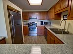Breakfast bar off the kitchen is great for your quick meals before heading out to all your activities in Keystone.
