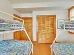 Lower Level Master Bedroom (2 Duobunks)