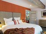 Arts Suite romantic bedroom
