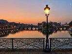 Ponts des arts : the perfect view