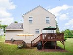 Up to 8 travelers can stay in this 3-bed, 2.5-bath home.