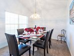 Dining Area; ideal for memorable family meals