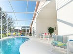 Enjoy your very own private pool in Kissimmee, Florida