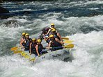 Raftingn en río trancura