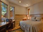 En suite bedroom downstairs with Jack and Jill bath