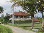 Situated in the rice paddies away from the hustle and bustle of tourists